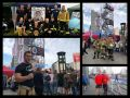 Die 12. Berlin Firefighter Combat Challenge 2018 am Potsdamer Platz in Berlin