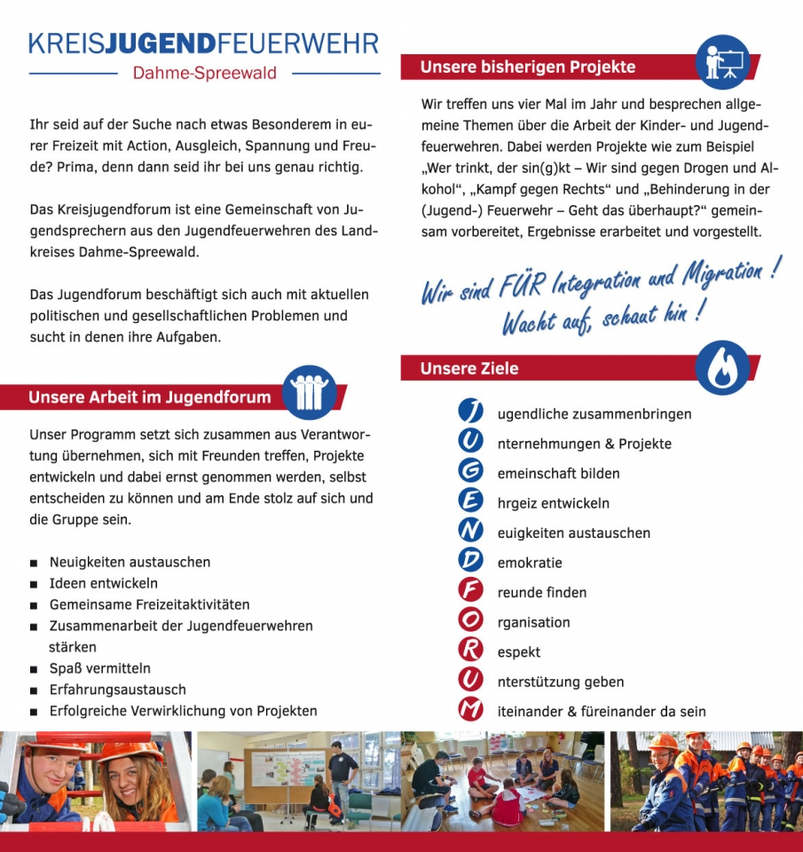 Flyer Jugendforum